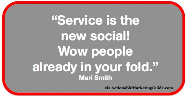 Mari Smith Quote from SMMW15 via Actionable Marketing Guide