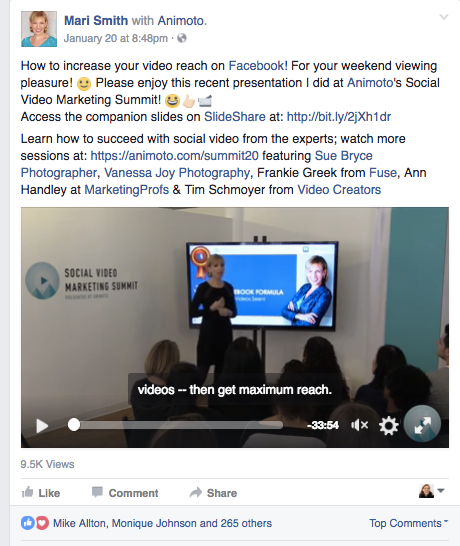 2017 Facebook Video TIps