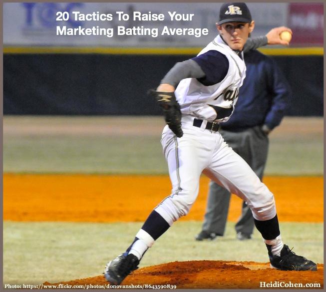 Marketing Batting Average-20 Tactics