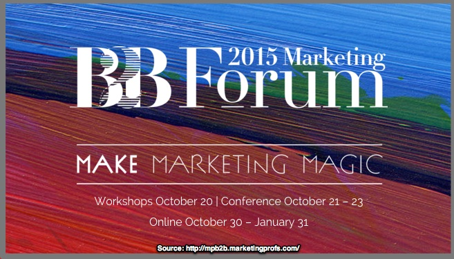 MarketingProfs B2B Marketing Forum 2015