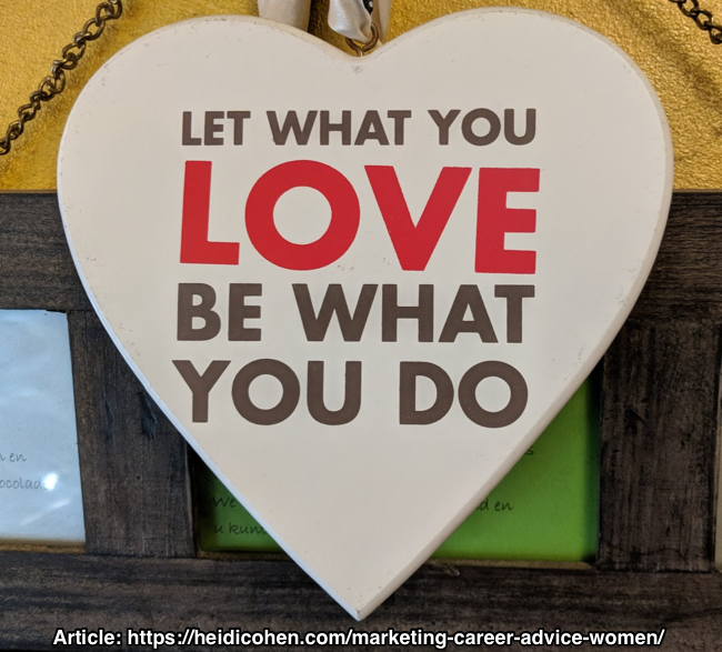 Let What You Love Be What You Do