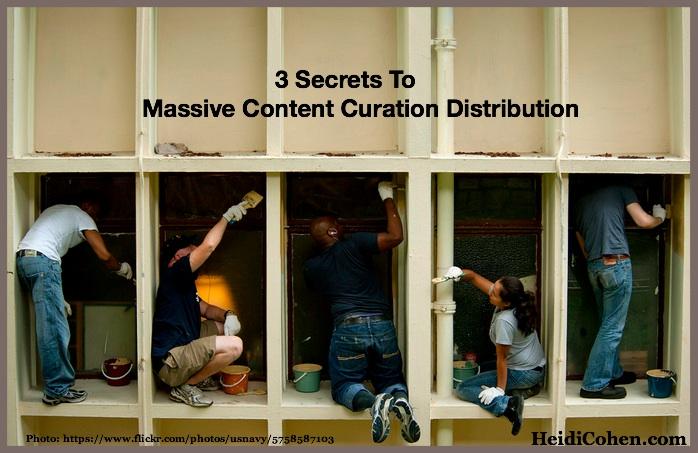 Massive Content Curation Distribution