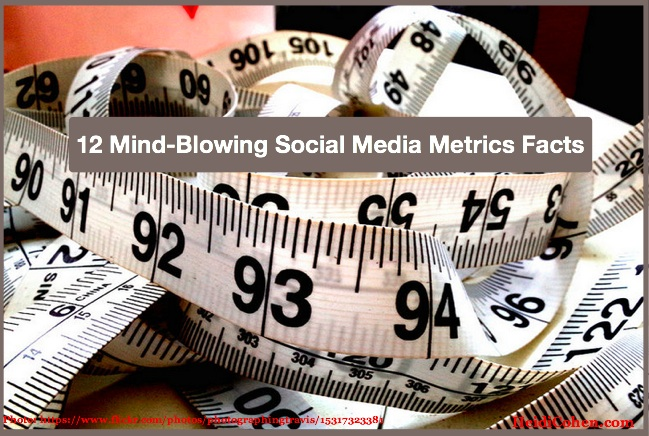 12 Mind-Blowing Social Media Metrics Facts