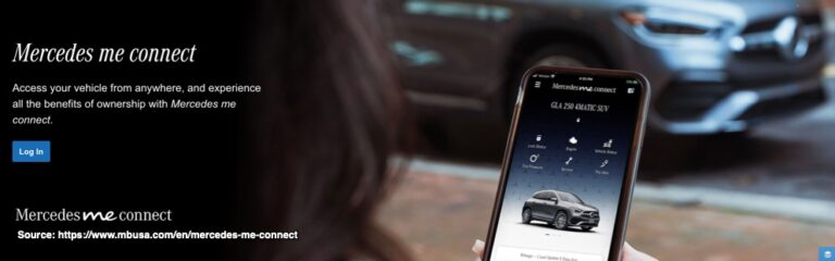 Mercedes In Car Speech Recognition Dashboard