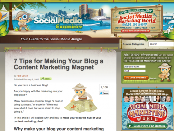 Mike Stelzner Social Media Examiner e1360821964807 14 Social Media Blogs You Should Love
