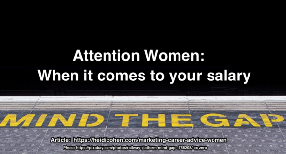 Marketing Career Advice Women-Mind The Gender Salary Gap