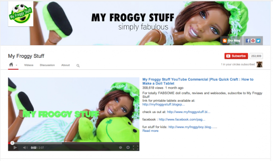 My-froggy-stuff