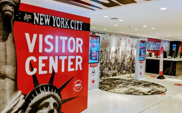 NYC Cisitor Center in Macy's