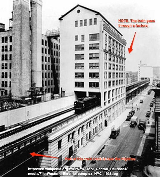 NY Central elevated railroad