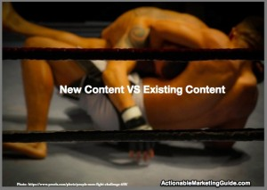 New Original Content VS Enhanced Existing Content