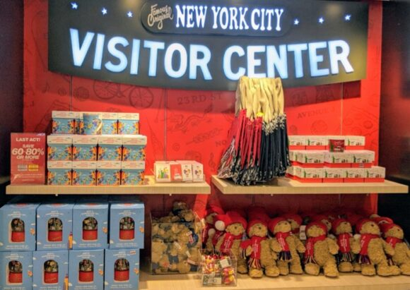 NYC VIsitor Center in Macy's