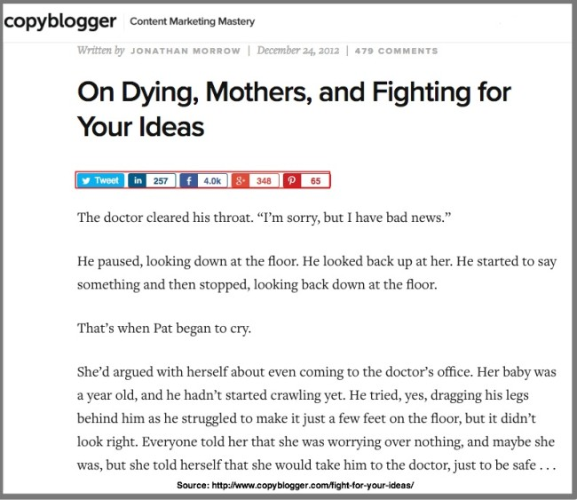 On Dying, Mothers, and Fighting for Your Ideas -Jon Morrow- Copyblogger
