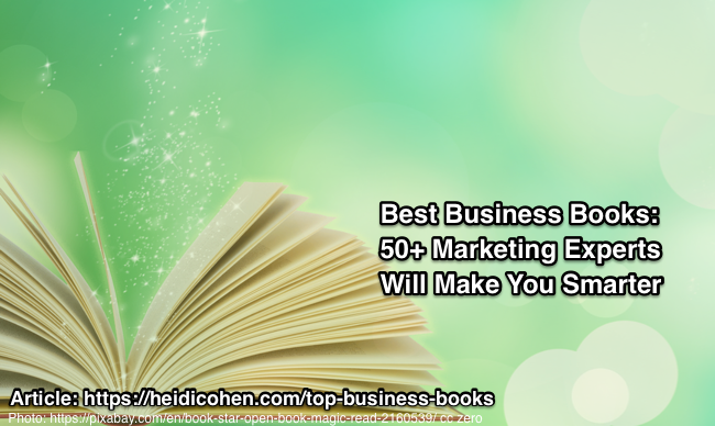Best Business Books Recommended by Marketing Experts