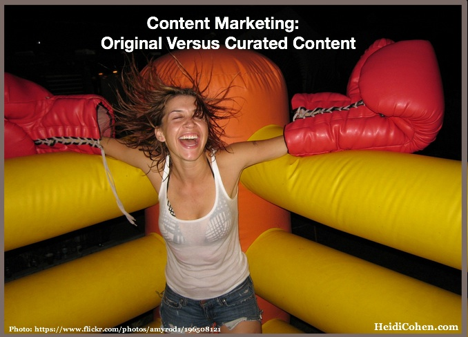 Content Marketing: Original Versus Curated Content - Heidi Cohen