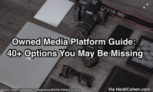 Owned Media Platform Guide