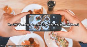 2017 Facebook Content