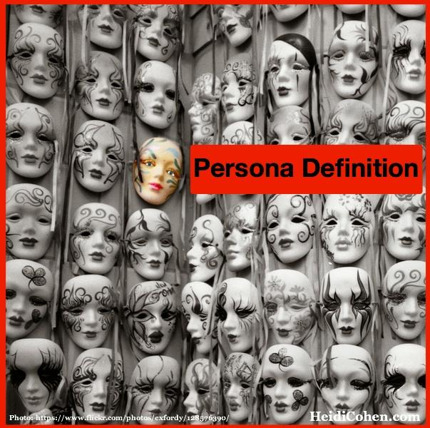 Persona Definition - 12 marketing attributes
