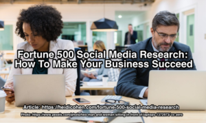 fortune 500 social media research