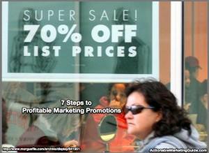 Profitable Marketing Promotions