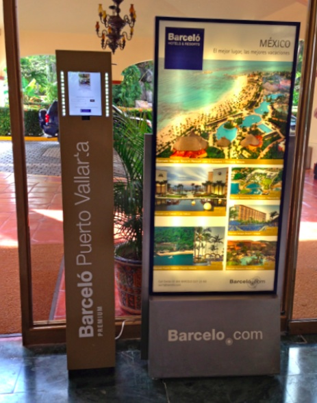 Photo Kiosk in Barcelo Hotel-Facebook -Email-Puerto Vallarta-Heidi Cohen