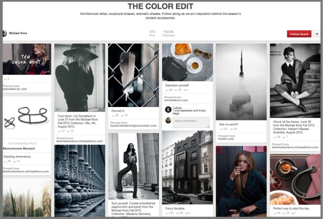 B2C Social Media Use-Pinterest