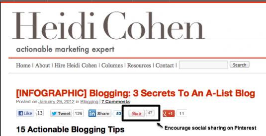 http://heidicohen.com/infographic-blogging-secrets-to-an-a-list-blog/