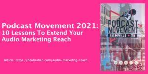 Audio Marketing Reach