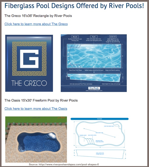 Pool Shapes-Explain your product