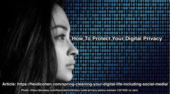 Spring Cleaning your Digital Life - Data Privacy