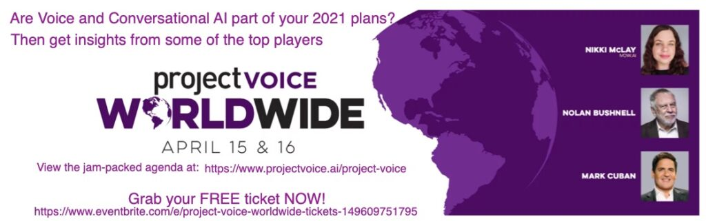 Project Voice Worldwide 2021