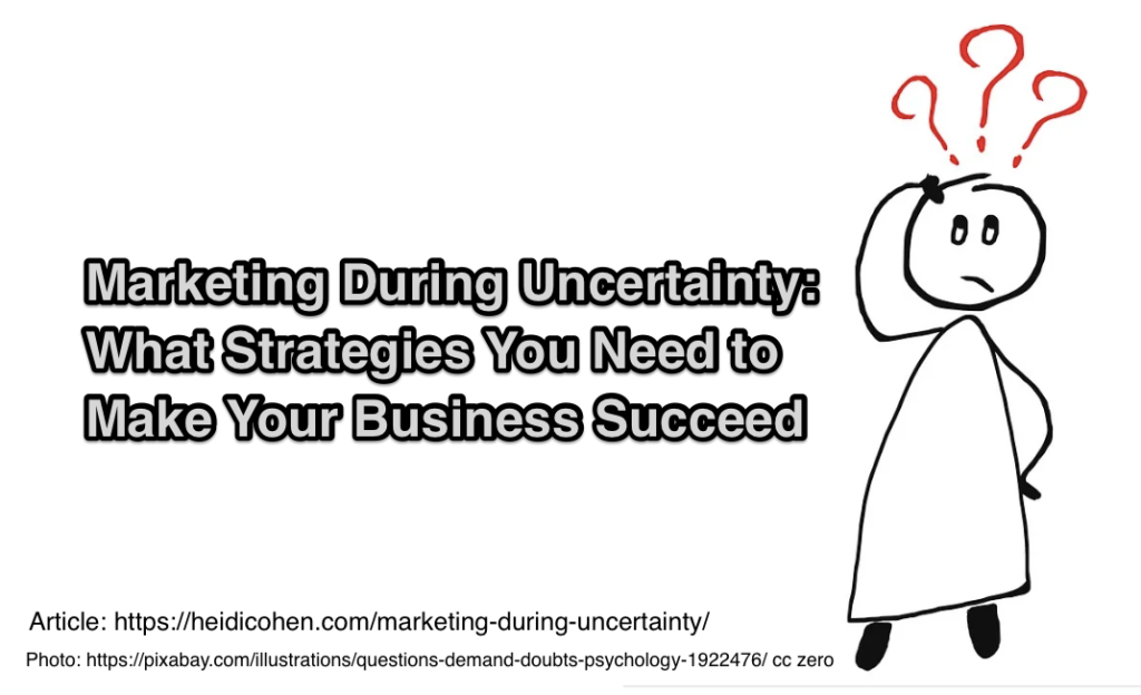 Marketing During Uncertainty