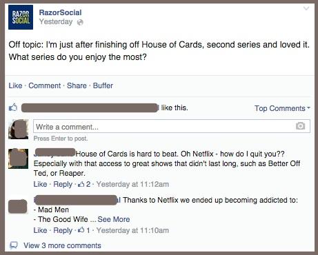 RazorSocial-Human on Facebook