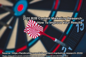 2020 B2B Content Marketing Research: How To Improve Your Results
