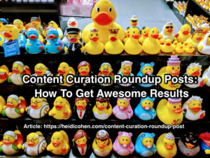 Content Curation Roundup Posts