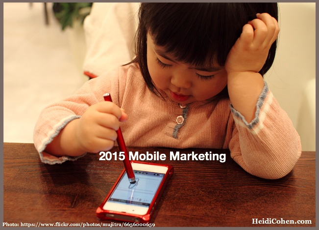 2015 Mobile marketing