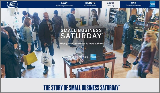 Small Business Saturday - American Express OPEN