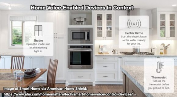 home voice-enabled devices in context
