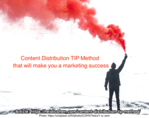 Content Distribution TIP Method