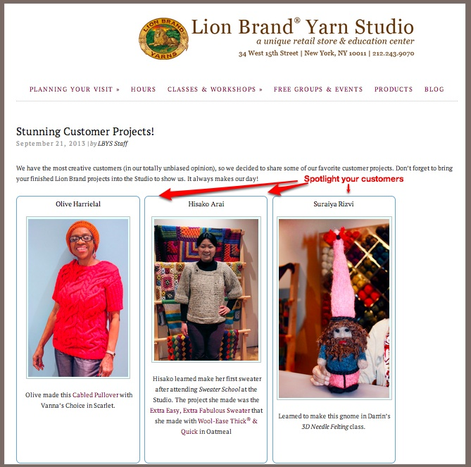 Social Content-CoCreate Lion Brand Yarn Studio-1