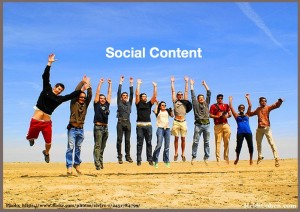 Social Content-Involve Your Community
