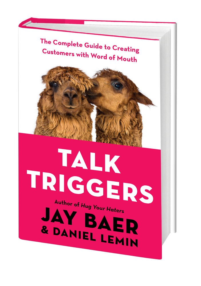 Jay Baer & Daniel Lemin of Convince & Convert dish about word of mouth marketing in their interview for their book, Talk Triggers.   Get useful charts to improve your digital and social media marketing.   #digitalmarketing  #interview #marketing