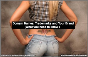Domain names, trademarks and brands