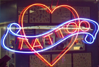 Tattoos while you wait