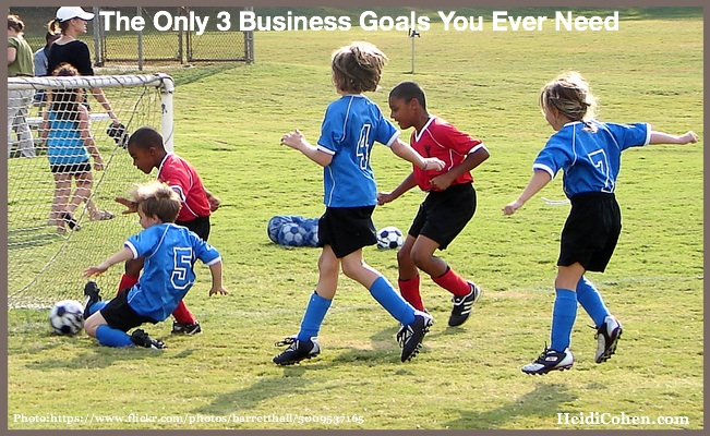 The Only 3 Business Goals You Ever Need