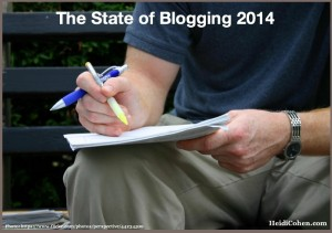 The State of Blogging 2014