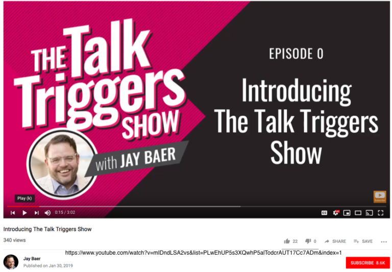 The Talk Triggers Show