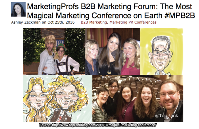 MarketingProfs B2B Forum Tactics-Top Rank