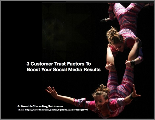 Trapeze -Customer Trust Factors