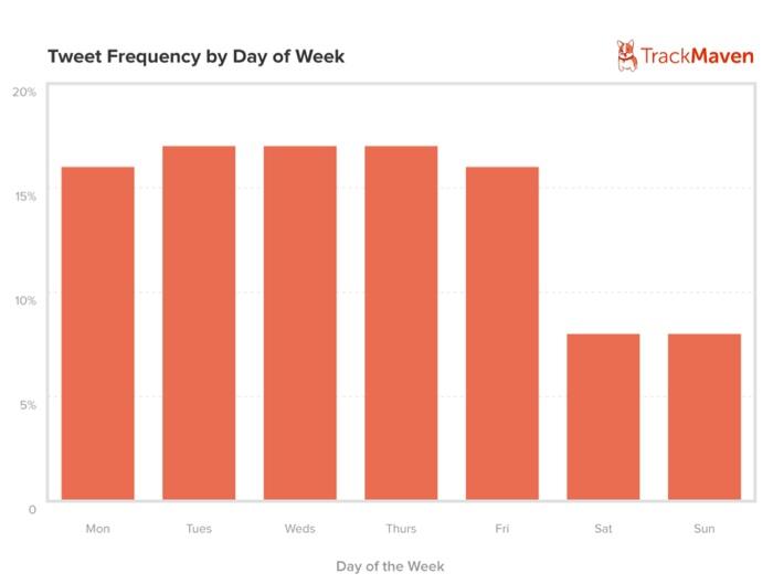 Twitter Activity Chart 2013