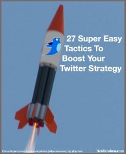 Twitter Rocket-Twitter Tactics 201